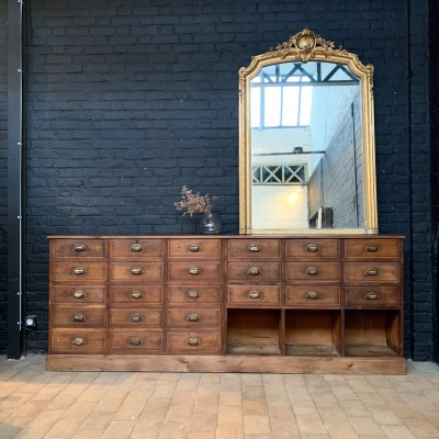 Oak workshop furniture