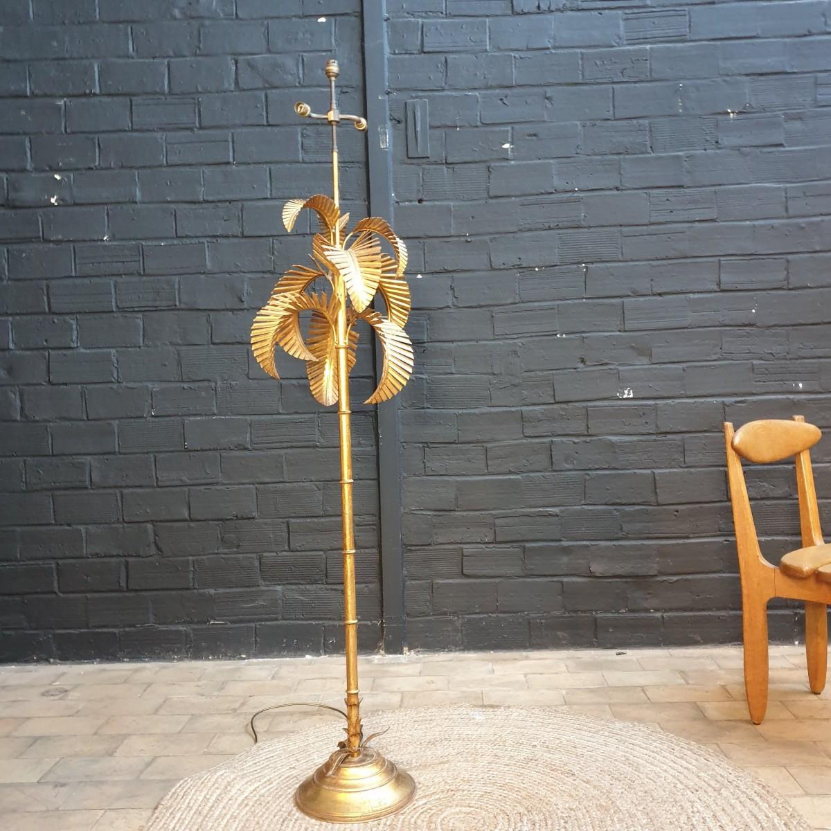 Hollywood regency style floor lamp