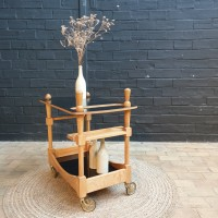Bar trolley from designer GUILLERME and CHAMBRON