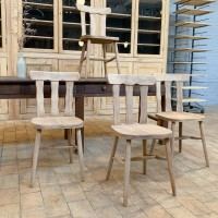 Set of 6 bistro chairs