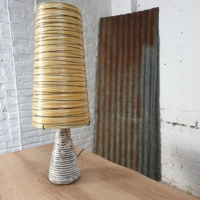 Ceramic and lamp by Accolay