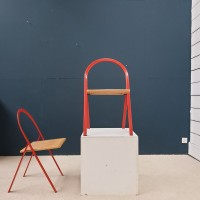 Pair of CIDUE folding chairs