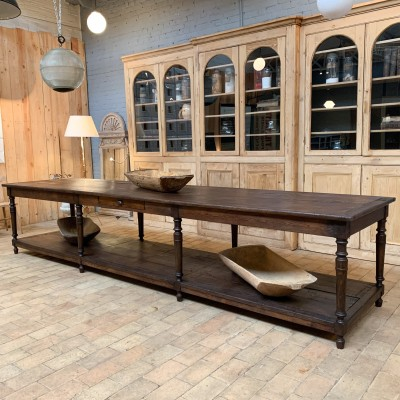 Large drapery table 1930