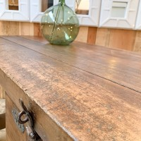 Wooden workbench
