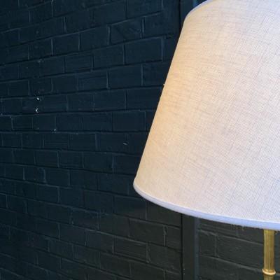 Brass floor lamp 1950