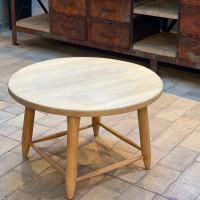 Vintage oak coffee table 1950