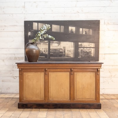 wooden French counter shop circa 1930