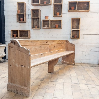 1 to 5 French chapel benches