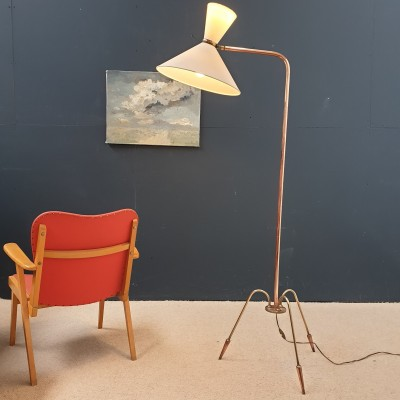 1950s french floor lamp