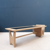 French coffee table GUILLERME CHAMBRON