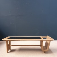 French design coffee table by GUILLERME et CHAMBRON