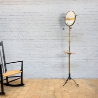 French barber mirror from the 1930s