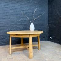 Round oak table 1960