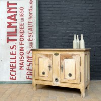 French wooden cooler