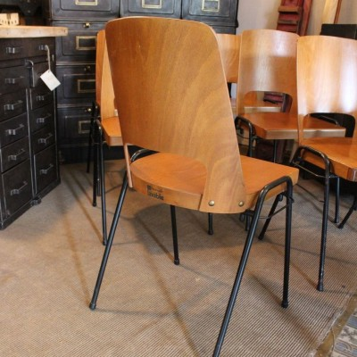 Set of 6 chairs Baumann