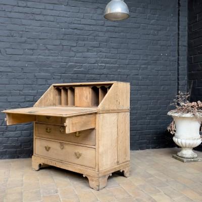 18th century oak desk