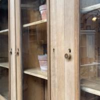 Oak sideboard in two parts
