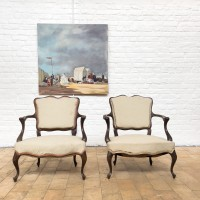 Pair of 1940 armchairs
