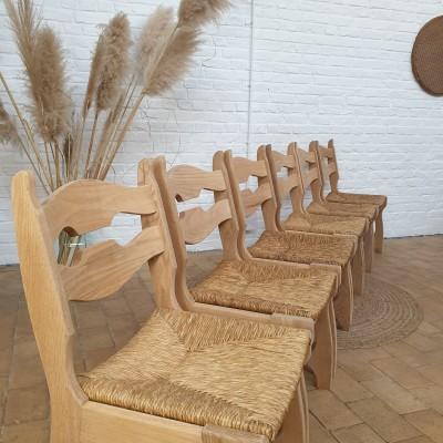 French oak chair