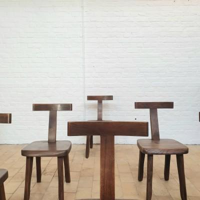 brutalist chair