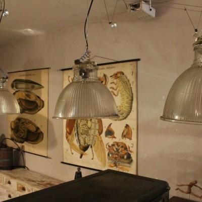 Série de 3 lampes Holophane