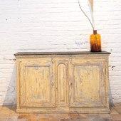 Ancien meuble en bois 2 portes - www.ma-petite-boutique.fr
