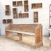 💚Il ne reste plus que deux bancs de chapelle !!! Retrouvez les sur notre site !