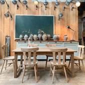 Ouvert ce samedi de 14h30 à 19h sur Tourcoing !! www.ma-petite-boutique.fr ———————————————— #meubledemetier  #tabledeferme  #tabledeferme  #table  #antique  #decoration  #brocante  #interior