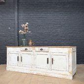 🤍Ancien meuble de fleuriste en bois - plus d'infos sur notre site 🤍