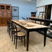 Grande table de ferme 274 x 83 x h76 cm