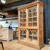 Grand vaisselier à portes coulissantes fin XIX ème - 237 x 169 x 55 cm ❌ SOLD / VENDU