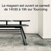 Le magasin est ouvert ce samedi de 14h30 à 19h sur Tourcoing - www.ma-petite-boutique.fr
