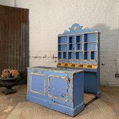🐢Ancien comptoir pour enfant - plus d'infos sur www.ma-petite-boutique.fr🐢