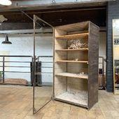 Ancienne vitrine d'herboriste => disponible sur notre site www.ma-petite-boutique.fr 🚚 Toutes nos livraisons sont assurées sur la France métropolitaine. Prenez soin de vous .