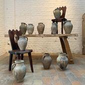 Série de 10 poteries fin 19 ème => plus d'infos www.ma-petite-boutique.fr