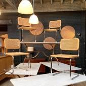 Série de 4 chaises Marcel Breuer - www.ma-petite-boutique.fr