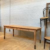 Ancienne table de ferme - 197 x 75 x h76.5 cm - www.ma.petite-boutique.fr