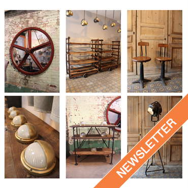 Subscribe to newsletter Ma Petite Boutique : industrial furniture